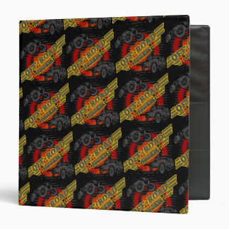 Off Road Junkie 4x4 Vinyl Binder