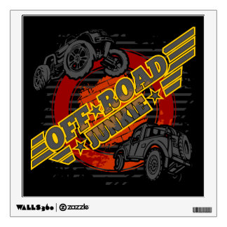 Off Road Junkie 4x4 Wall Decal