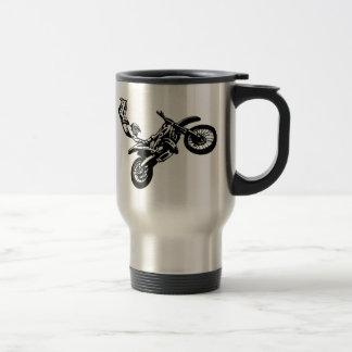 Off-Road Motorcycle Racing Stainless Steel Travel Mug