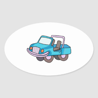 OFF ROAD VEHICLE OVAL STICKERS