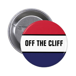Off The Cliff 2 Inch Round Button