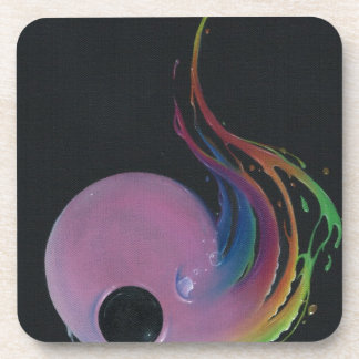 off the deep end beverage coasters