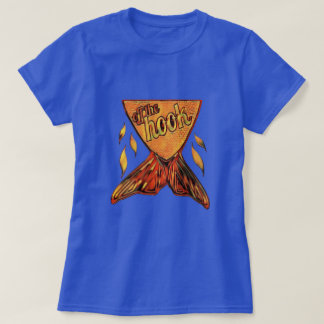 Off the Hook ~ Golden Fishy Graphic by Aleta T-Shirt