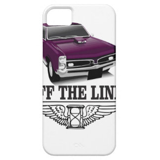 off the line hot car iPhone 5 cover