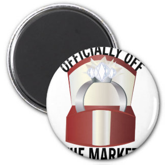 Off The Market 2 Inch Round Magnet
