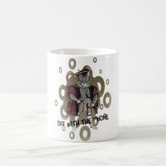 Off With The Phone Classic White Coffee Mug