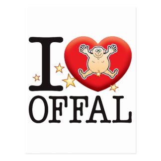 Offal Love Man Postcard