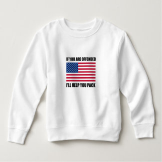 Offended USA Flag Help Pack Sweatshirt