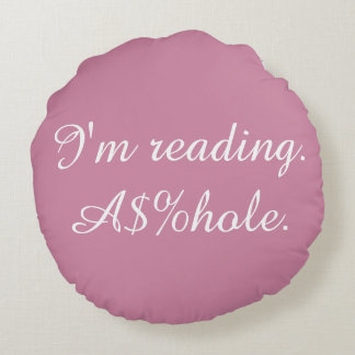 Offensive Reading Pillow
