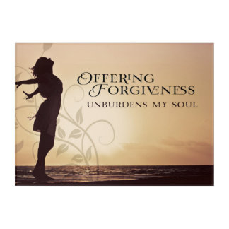 Offering Forgiveness Acrylic Print