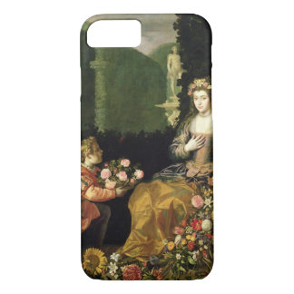 Offering to Flora, 1627 (oil on canvas) iPhone 7 Case