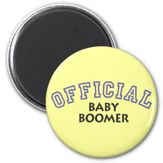 Offical Baby Boomer - Blue Magnets