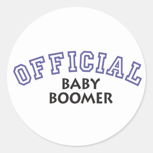 Offical Baby Boomer - Blue Sticker