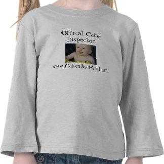 Offical Cake Inspector shirt