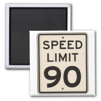 Offical Highway Speed Limit Sign 90mph Ninety Fridge Magnets