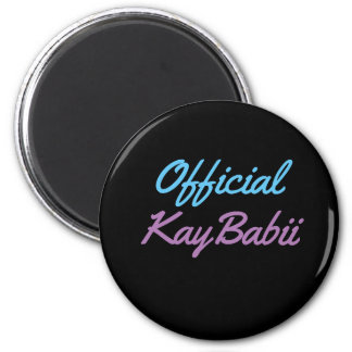 Offical KayBabii Magnent 2 Inch Round Magnet