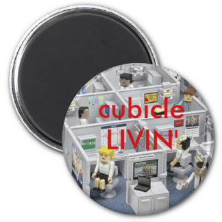 Office 2 Inch Round Magnet
