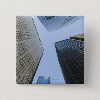 Office Buildings in Lower Manhattan 2 Inch Square Button