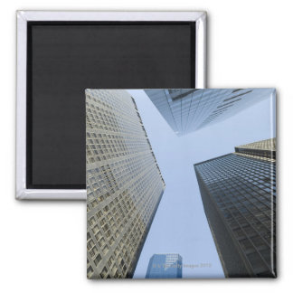 Office Buildings in Lower Manhattan Square Magnet