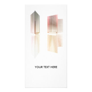 Office buildings picture card