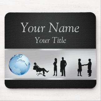 Office Business People World Globe - Mousepad