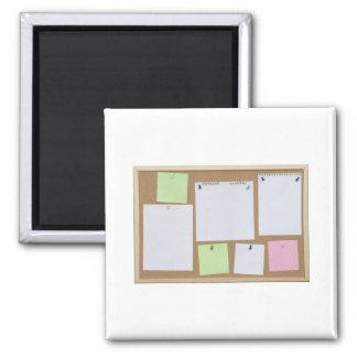 office cork board magnet