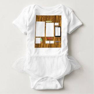 Office Desk Baby Bodysuit