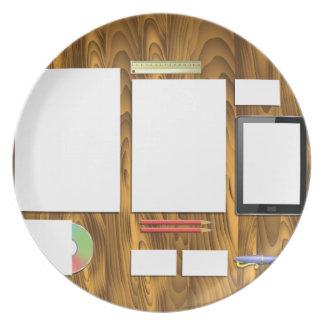 Office Desk Plate
