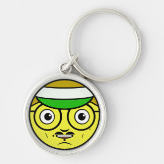Office Face Keychain