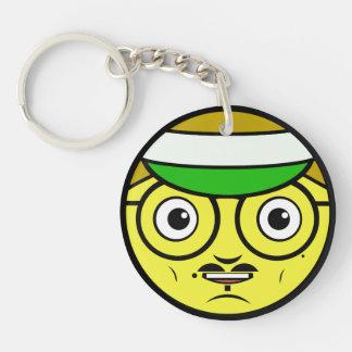 Office Face Keychain