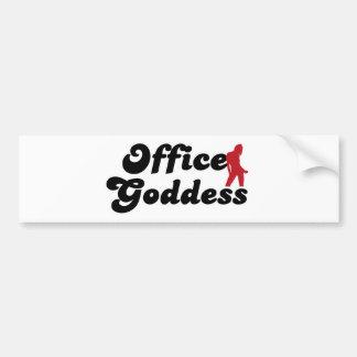 office goddess autocollant de voiture