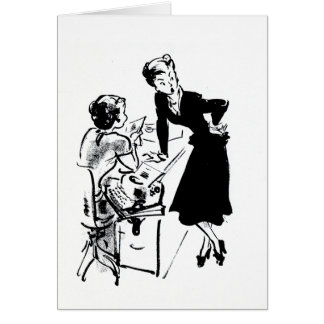 Office Gossip Card