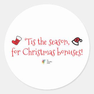 Office Humor Sticker for Christmas