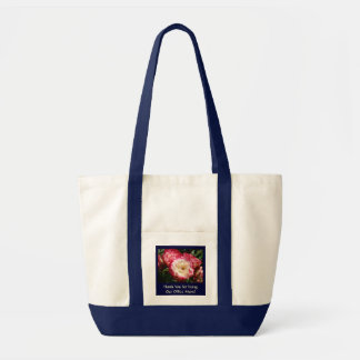 Office Mom Thank You! Tote bag Pink Roses gifts