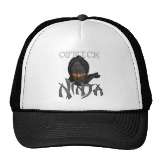 Office Ninja Trucker Hat