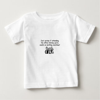 Office Party working overtime Baby T-Shirt