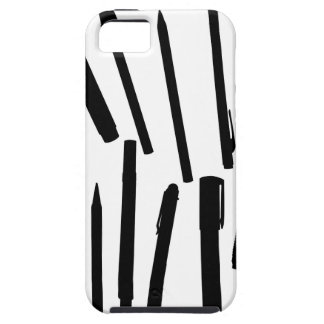 Office Pens Silhouette iPhone 5 Cases