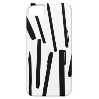 Office Pens Silhouette iPhone 5 Covers