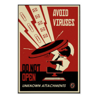 Office Propaganda: Avoid Downloads Poster