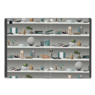 Office Shelves Wellness Teal Case For iPad Mini