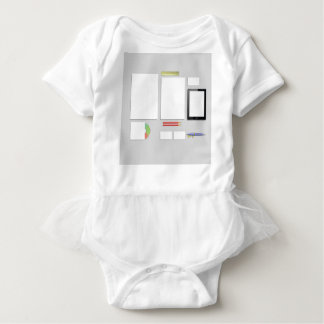 Office Supplies Baby Bodysuit