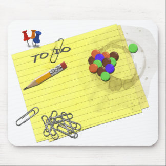 Office Supplies Mouse Pad