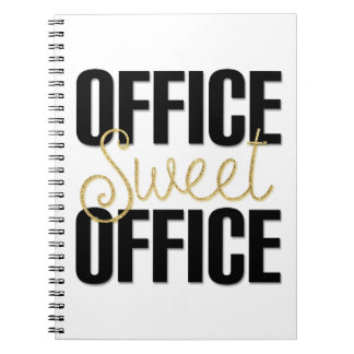 Office Sweet Office Notebook Boss Coworker Present