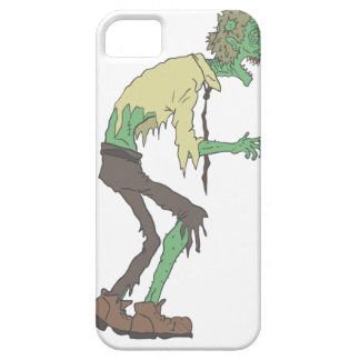 Office Worker Creepy Zombie With Rotting Flesh Out iPhone 5 Cases