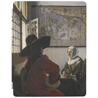 Officer and Laughing Girl by Johannes Vermeer iPad Cover