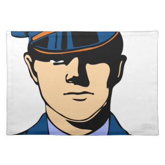 Officer In Uniform Placemat