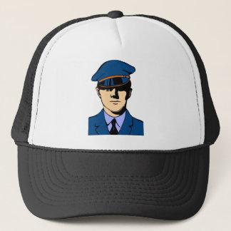 Officer In Uniform Trucker Hat