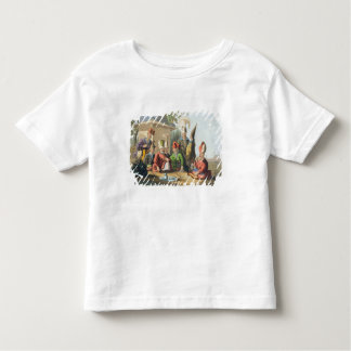 Officers of the Grand Seraglio Regaling, engraved Shirt