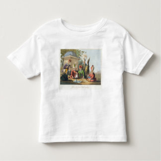 Officers of the Grand Seraglio Regaling, engraved Toddler T-shirt