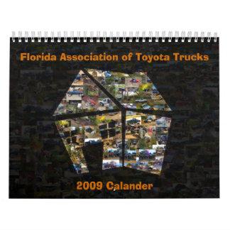 OFFICIAL 2009 FATTshack CALANDER Wall Calendar